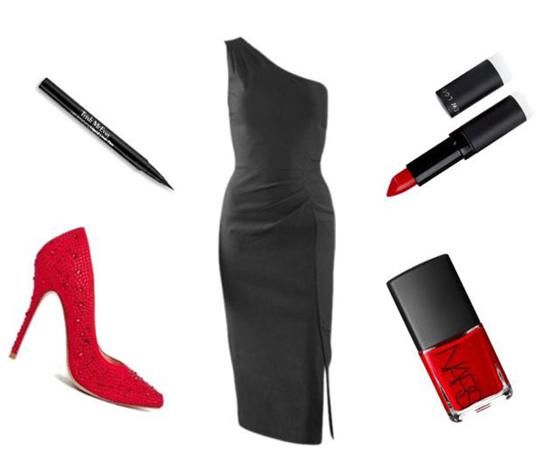 black-dress-red-shoes
