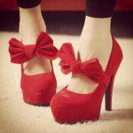 Когда уместны красные туфли