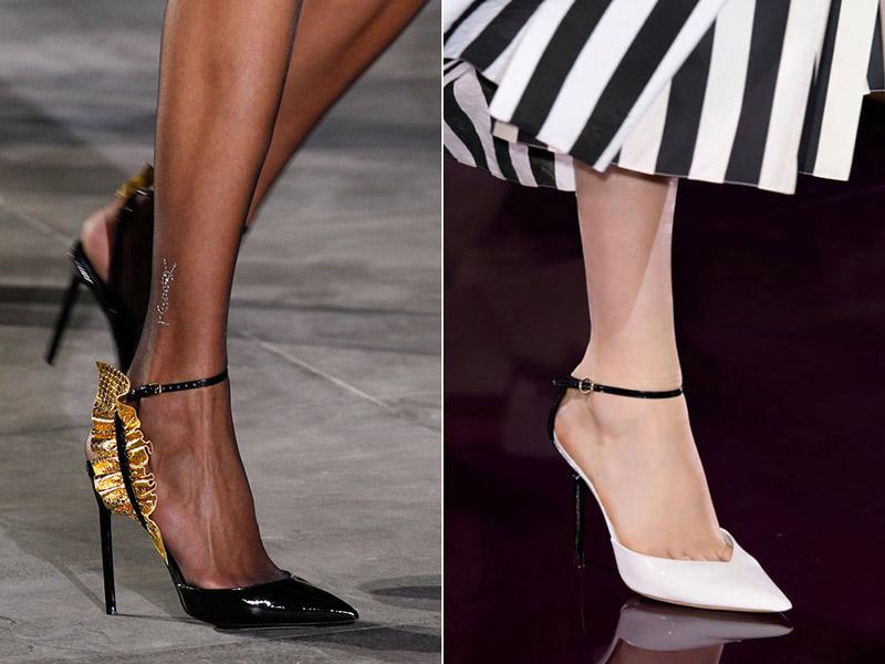 Черные туфли от Ив Сен Лоран