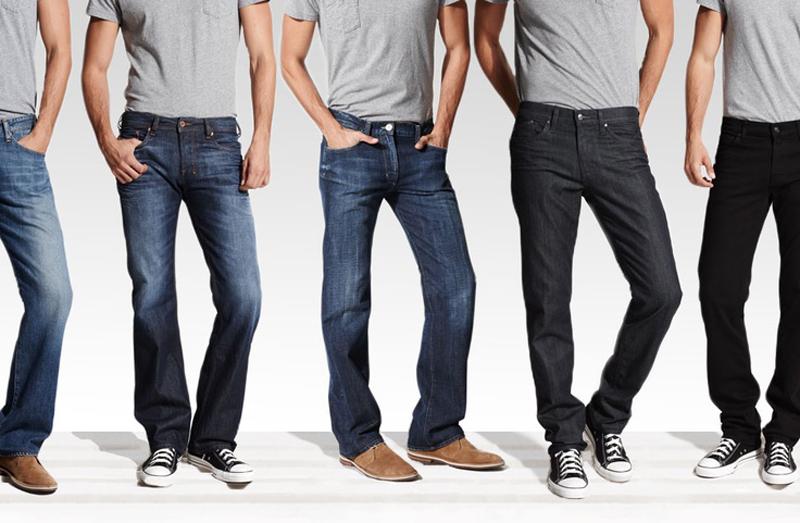Мужчины в разных видах обуви