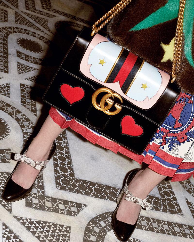 Туфли Мэри Джейн от Gucci