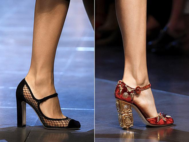 Туфли Мэри Джейн от Dolce&Gabbana