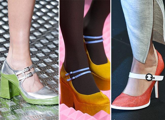 Туфли Мэри Джейн от дизайнеров