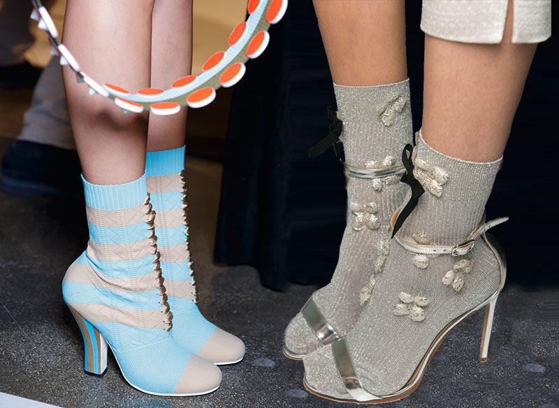 Женские туфли. Мода весна-лето 2017