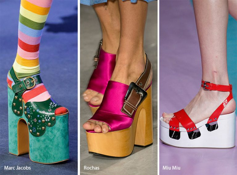 Тренд обувь весна 2017 женская