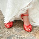 Могут ли свадебные туфли быть яркими?
