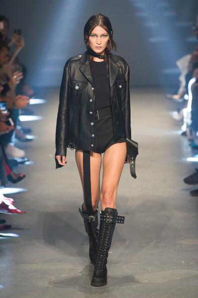 Versus Versace байкерские сапоги весна лето 2017