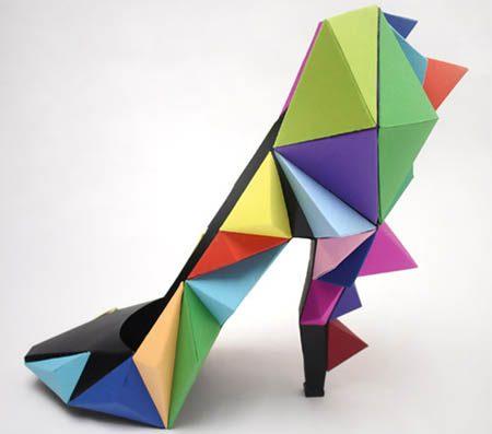 фигурные необычные туфли