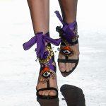 Коллекция обуви DSQUARED2 весна-лето 2017 на неделе моды в Милане