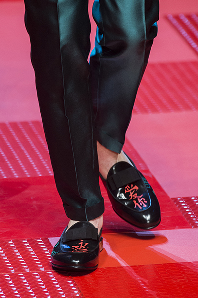 Черные мужские туфли от Dolce&Gabbana