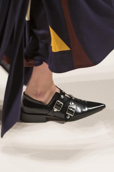 Черные туфли от Victoria Becham