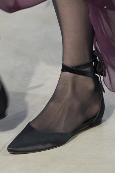 Черные балетки от Carolina Herrera