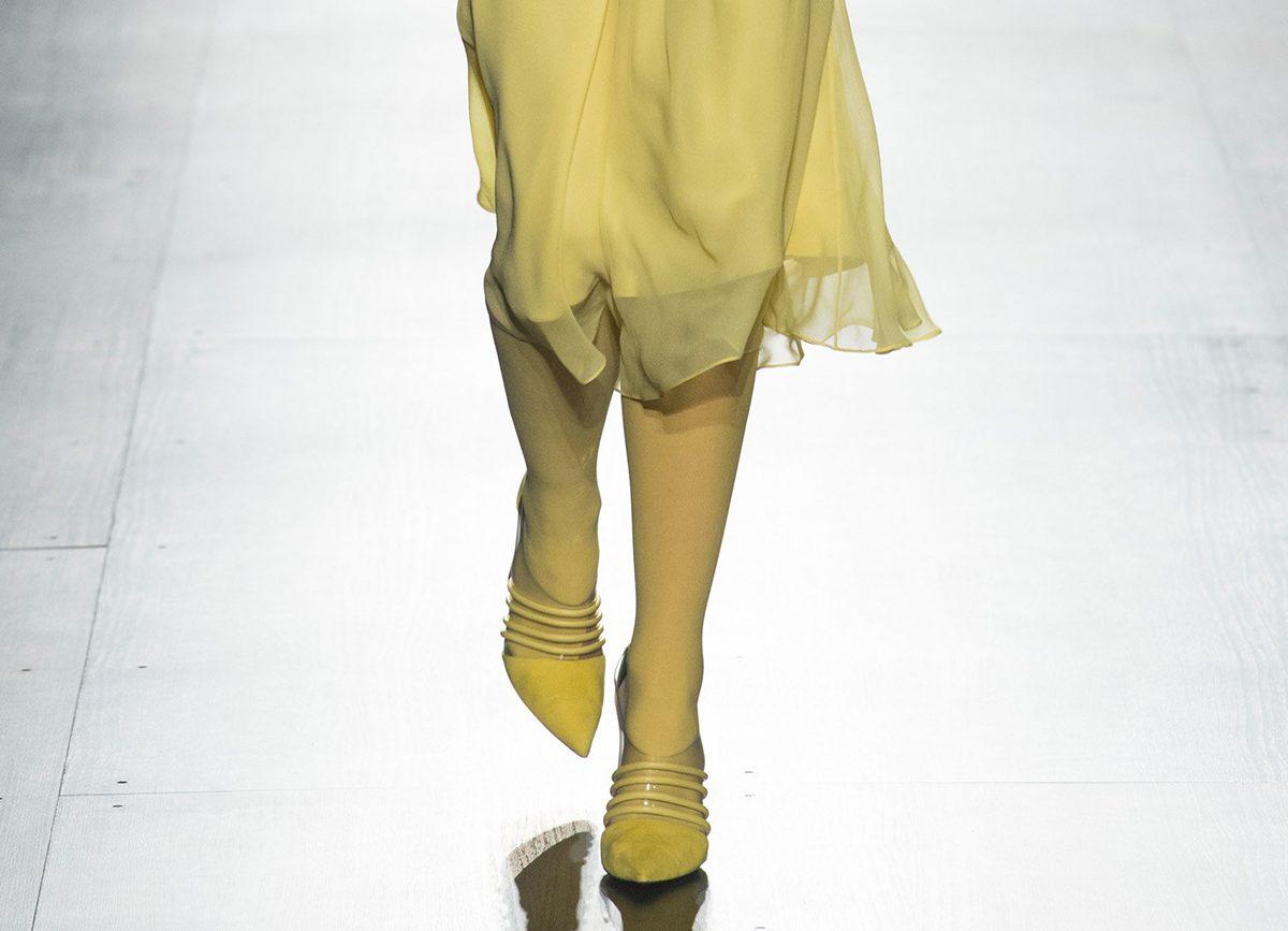 Желтые туфли от Prabal Gurung