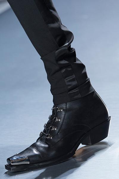 Черные мужские ботинки от Balmain