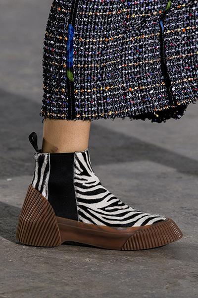 ботинки зебра от Phillip Lim