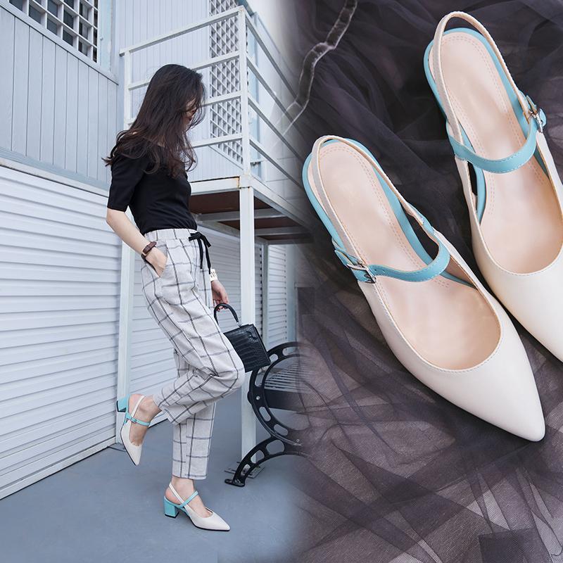 белые туфли на низком каблуке для работы