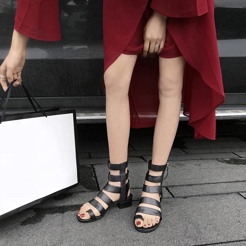 чёрные сандалии CHIKO ANONA
