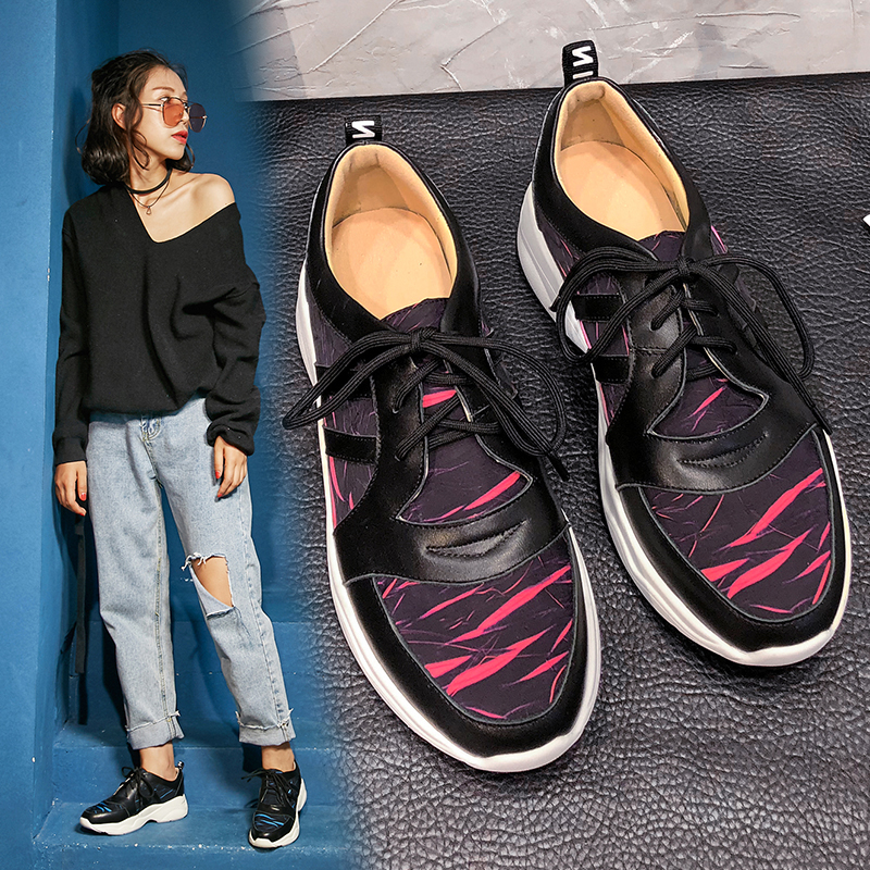 Папины кроссовки Chiko Bayron на толстой плоской платформе
