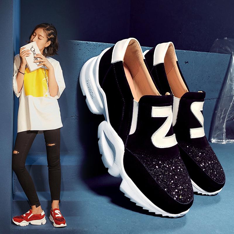 Папины кроссовки с блеском от Chiko Barker