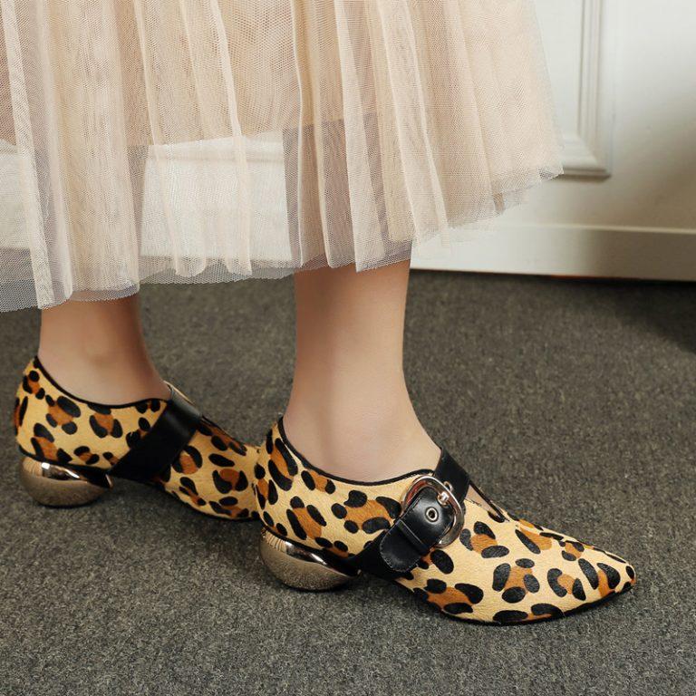Ботинки Chiko Aubriana с леопардовым принтом
