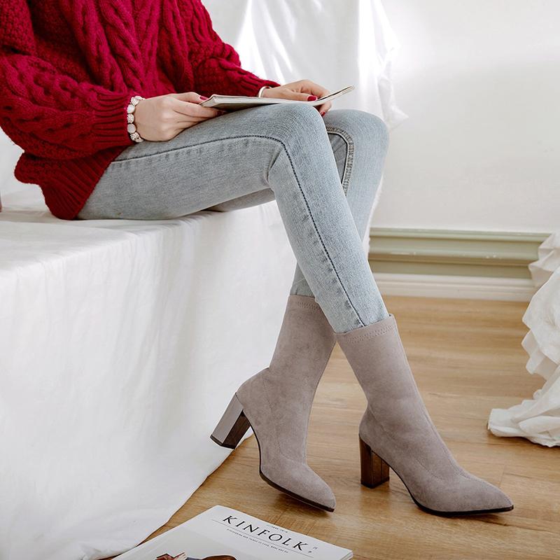 Ботинки носки CHIKO BERNADINE без застежек
