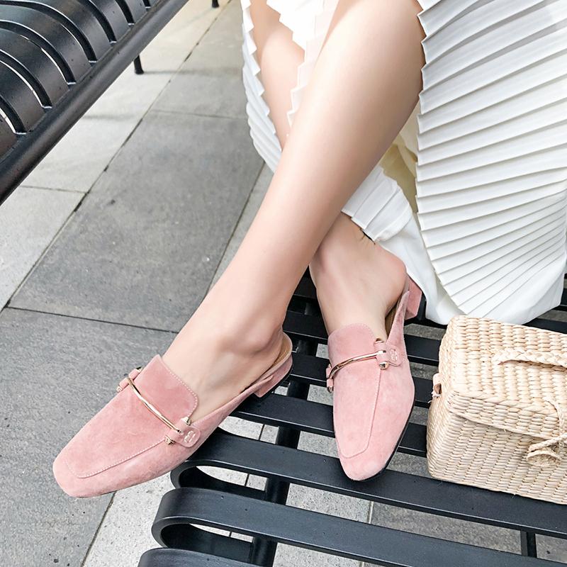 Розовые лоферы CHIKO ALGIE без застежек