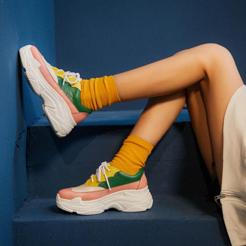 Цветные папины кроссовки CHIKO BAYLEA