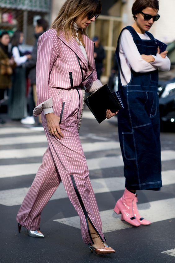 Сапоги нежно-розового цвета