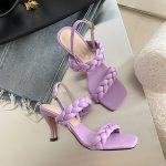 Тренд 2020 - Плетеные туфли и босоножки